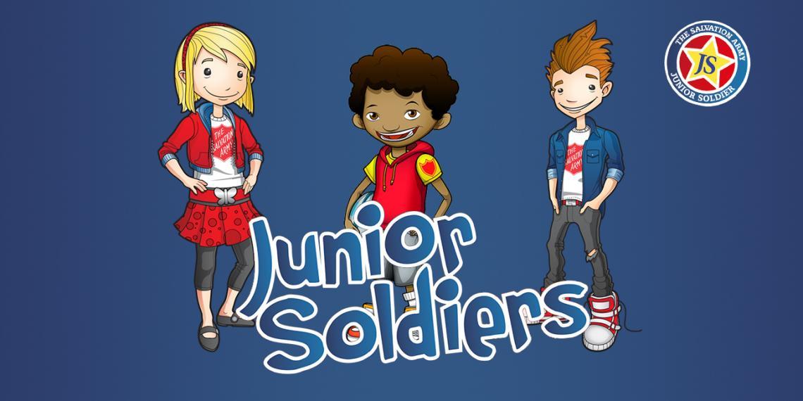 Junior Soldiers Banner