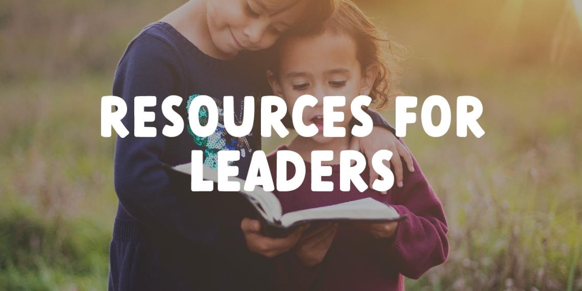 Resources for Leaders Banner